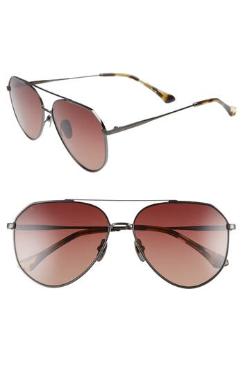 DIFF Dash 58mm Aviator Sunglasses