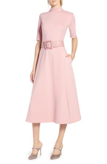 Halogen® x Atlantic-Pacific Stretch Ponte Dress