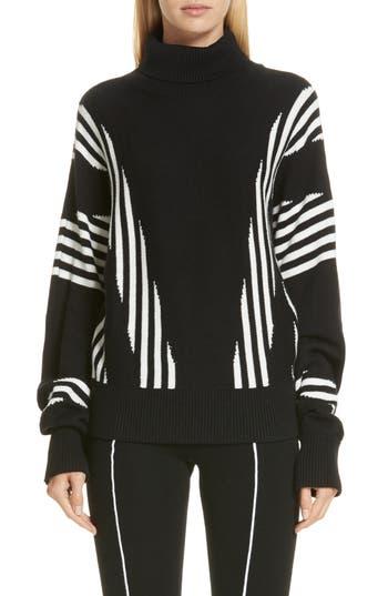 Victor Glemaud Stripe Turtleneck Sweater