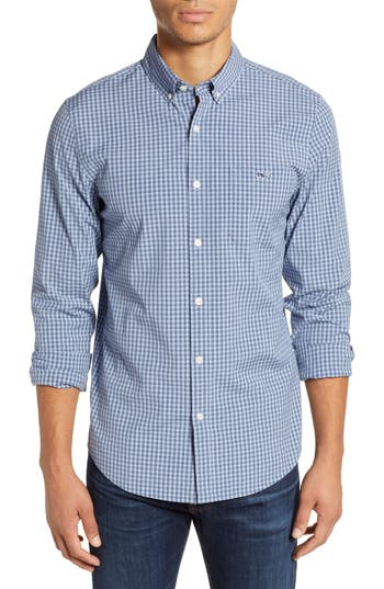 vineyard vines Gingham Check Sport Shirt