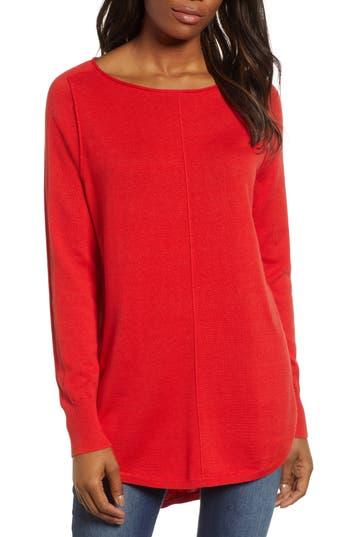 Caslon® Seam Detail Shirttail Tunic