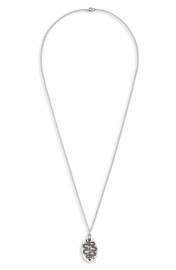 Lewis Henry Nicholas Arrow Serpent Pendant Necklace