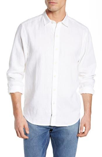 Tommy Bahama Playa Parrita Graphic Detail Linen Shirt