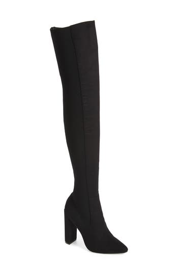 Steve Madden Essence Over the Knee Stretch Boot