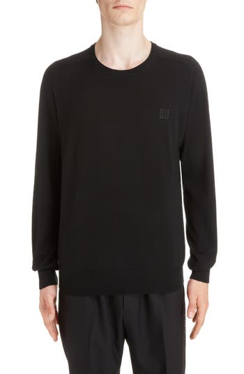 Givenchy 4G Wool Crewneck Sweater