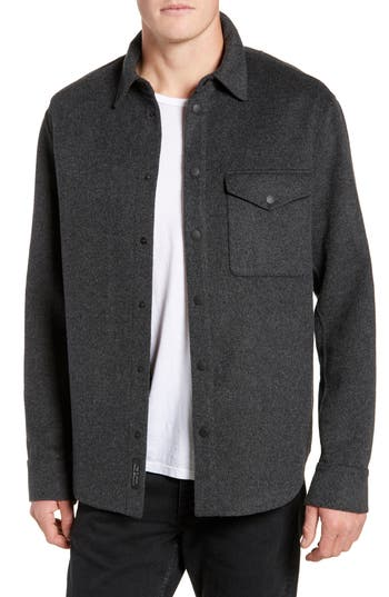 rag & bone Principle Wool Blend Shirt Jacket