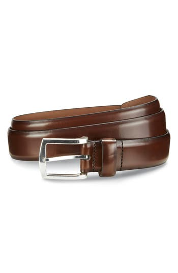 Allen Edmonds Midland Ave. Leather Belt