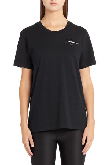 Off-White Hanna Leaves Casual Tee