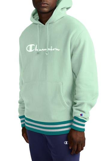 Champion Embroidered Logo Hooded Sweatshirt