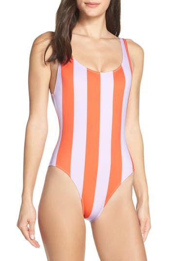 Solid & Striped Anne Marie Open Back One-Piece Swimsuit