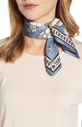 Longchamp Tattoo Silk Scarf