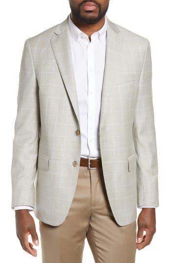 Hart Schaffner Marx New York Classic Fit Check Wool Sport Coat