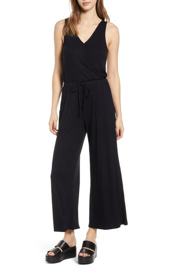 BP. Wide Leg Rib Jumpsuit