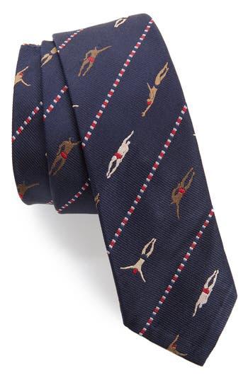 Thom Browne Swimmer Skinny Tie