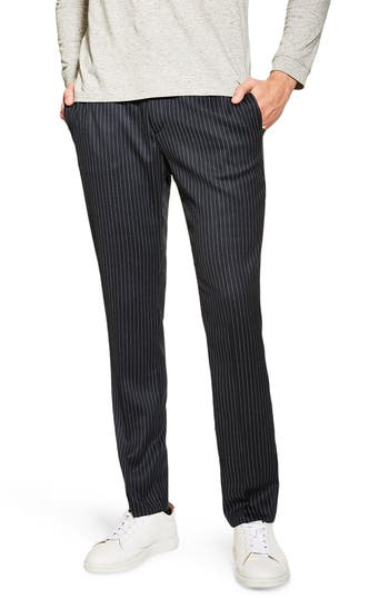 Topman Tailored Pinstripe Trousers