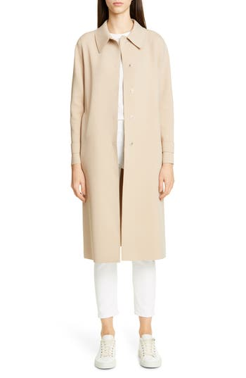 Harris Wharf London Single Breasted Trench Coat