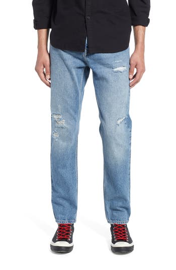 Topman Tapered Fit Jeans