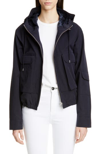 Jacquemus Linen Blend Hooded Jacket