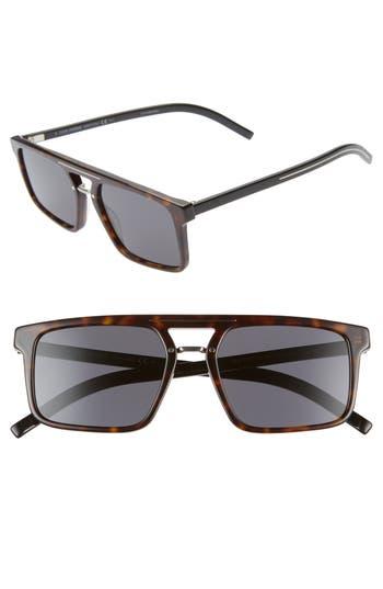 Dior Homme Black Tie 54mm Sunglasses