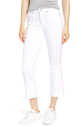 7 For All Mankind® High Waist Crop Jeans