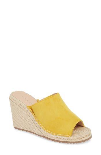Very Volatile Mused Espadrille Wedge Slide Sandal (Women)