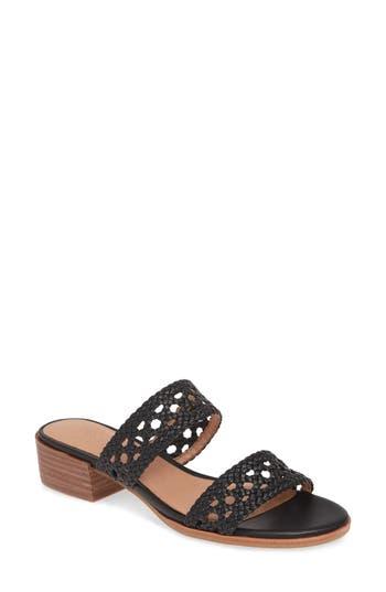 Madewell The Marianna Basketweave Slide Sandal (Women)