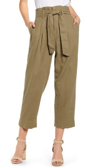Madewell Paperbag Waist Pants