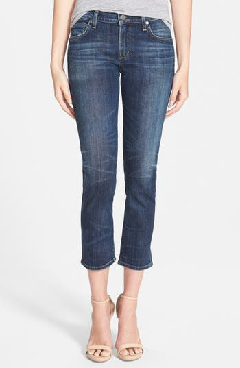 CITIZENS OF HUMANITY 'PHOEBE' CROP SKINNY JEANS