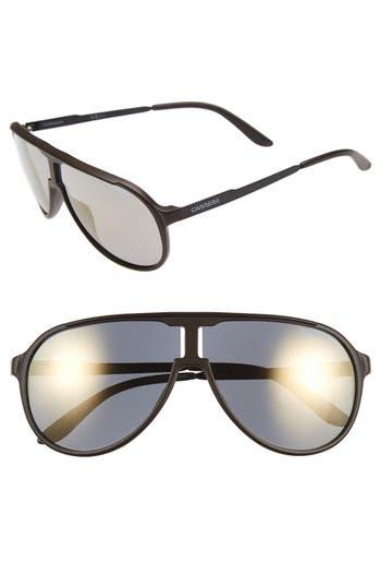 Carrera Eyewear 62Mm Aviator Sunglasses - Brown Black/ Bronze Mirror