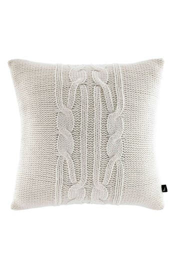 Nautica 'Seaward' Knit Pillow