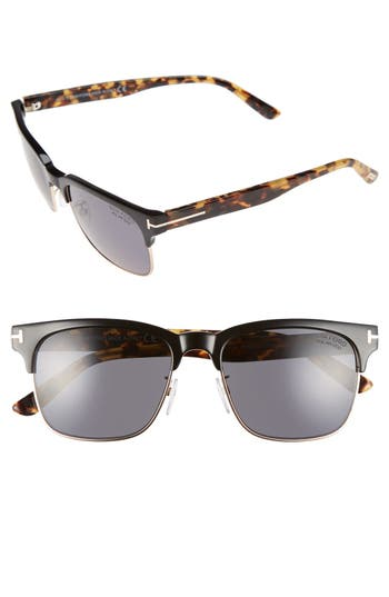 Men's Tom Ford 'Louis' 55Mm Polarized Sunglasses -