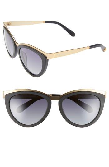 freida rothman female womens freida rothman daphne 56mm cat eye sunglasses