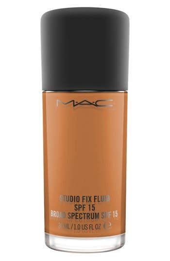 MAC MAC Studio Fix Fluid Foundation Spf 15 - Nw48 Deep Auburn Golden