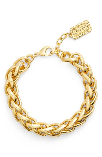 Women's Karine Sultan Braided Link Bracelet