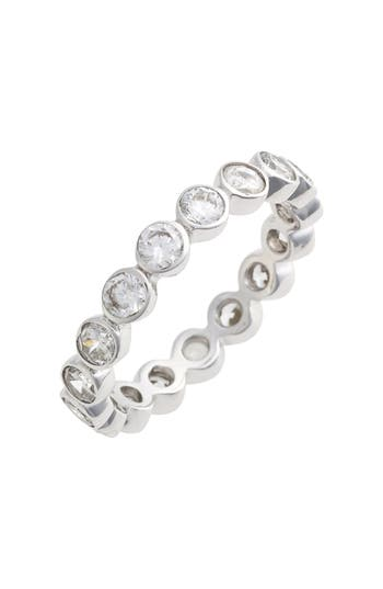 Women's Judith Jack Stackable Cubic Zirconia Bezel Ring