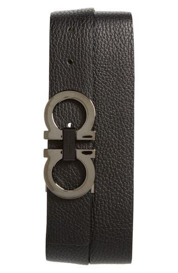 Salvatore Ferragamo Reversible Double Gancio Belt