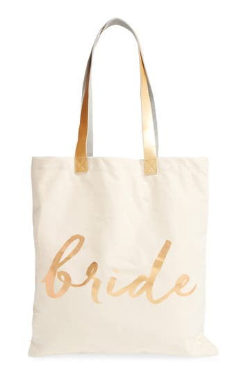 Rosanna 'Bride' Canvas Tote -
