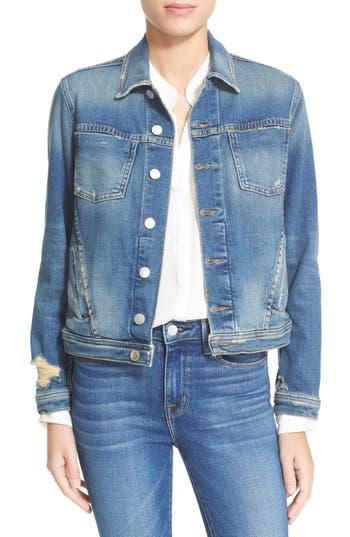 Women's L'Agence Slim Fit Denim Jacket