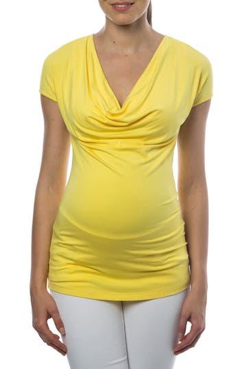 PIETRO BRUNELLI   Women's Pietro Brunelli 'Ginestra' Cowl Neck Maternity/nursing Tunic,   Goxip