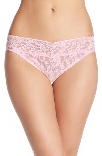 Women's Hanky Panky Regular Rise Lace Thong