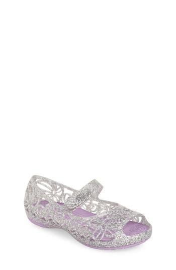 Girl's Crocs(TM) 'Isabella' Jelly Flat