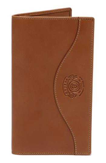 Ghurka Leather Breast Pocket Wallet - Beige