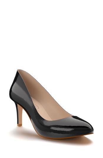 Shoes Of Prey Round Toe Pump - Black