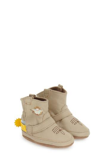 Infant Boy's Robeez 'Disney Woody Bootie' Crib Shoe