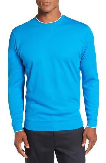 Men's Bobby Jones 'Walker' Tipped Pima Cotton Long Sleeve T-Shirt