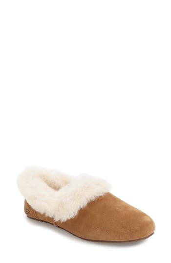 Ugg Kendyl Genuine Shearling Slipper, Brown