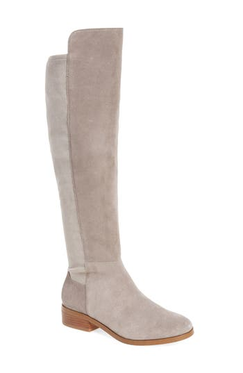 Sole Society Calypso Over The Knee Boot, Grey