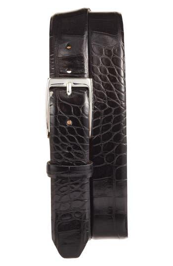 Men's Big & Tall Martin Dingman Anthony Leather Belt