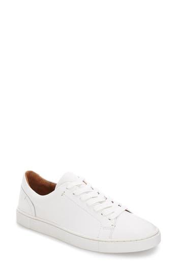 Frye Ivy Sneaker- White