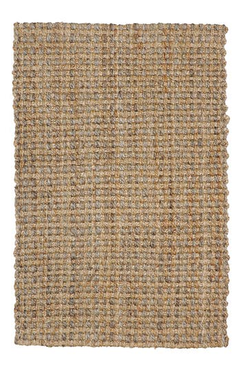 Villa Home Collection Panama Handwoven Rug, Size Swatch - Beige
